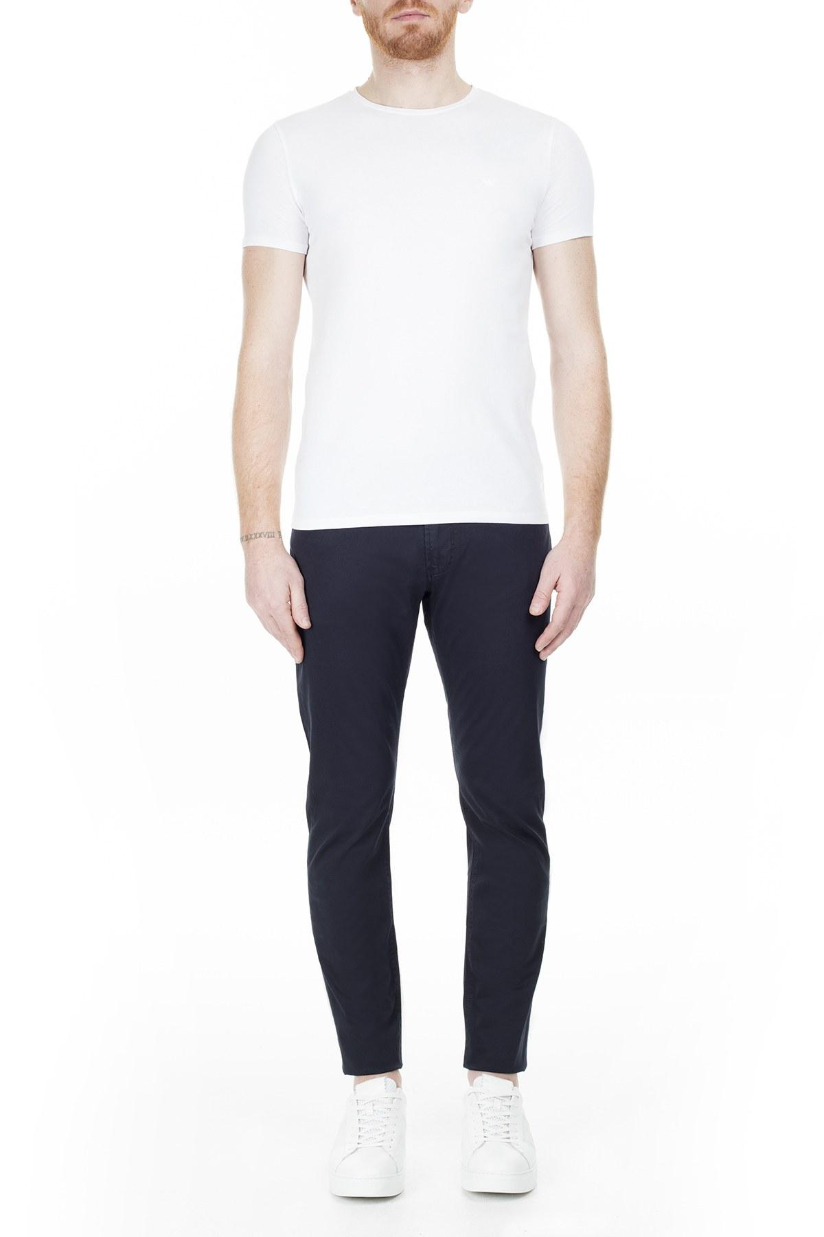 Emporio Armani J06 Jeans Erkek Pamuklu Pantolon 3H1J06 1NEDZ 0922 LACİVERT