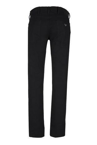 Emporio Armani - Emporio Armani J06 Jeans Erkek Pamuklu Pantolon 3Z1J06 1N4CZ SİYAH (1)