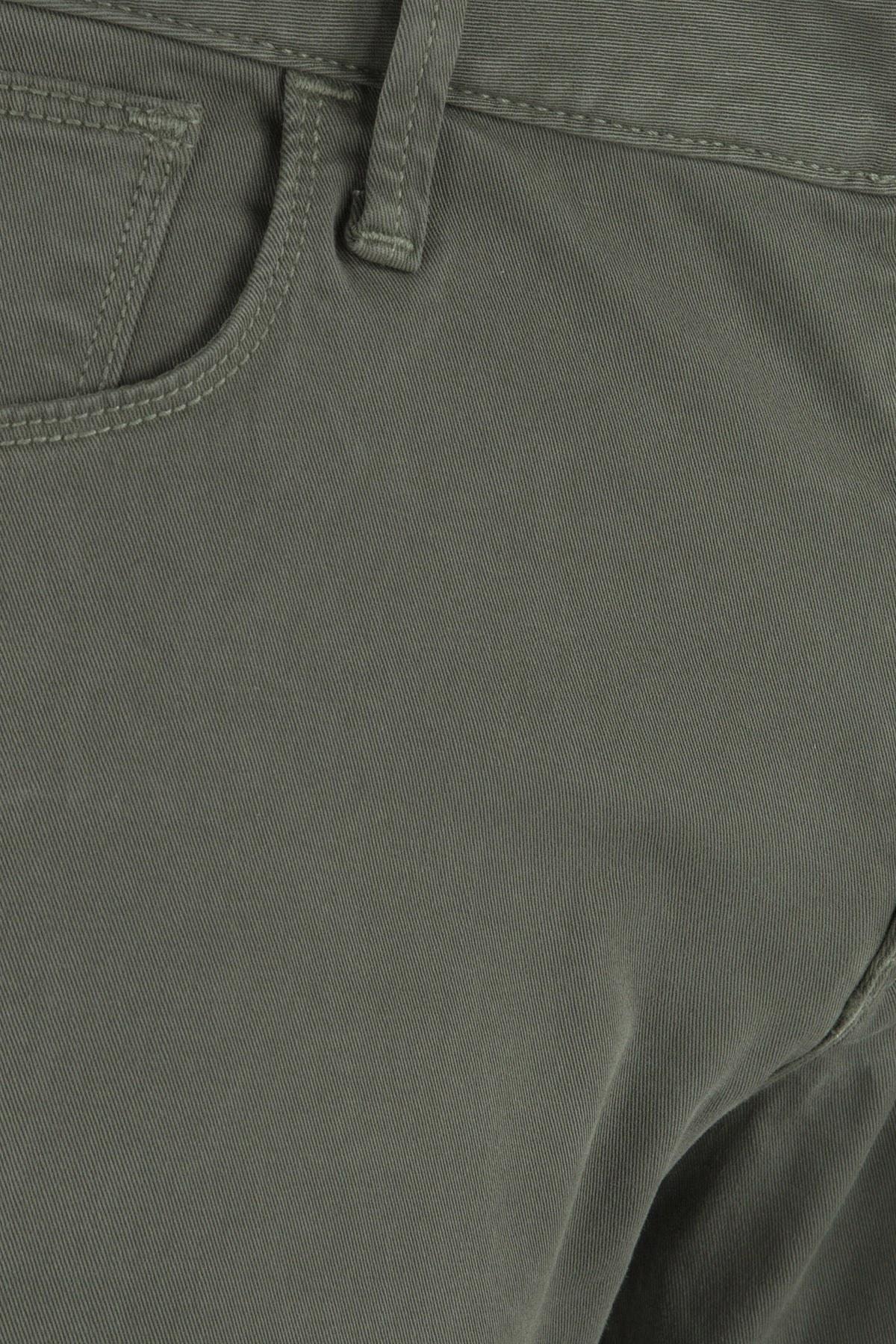 EMPORIO ARMANI J06 JEANS Erkek Pamuklu Pantolon 3Z1J06 1N4VZ 0544 YEŞİL