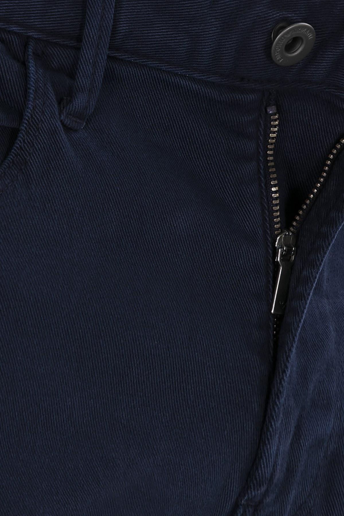 EMPORIO ARMANI J06 JEANS Erkek Pamuklu Pantolon 6Z1J06 1N2BZ 0940 LACİVERT
