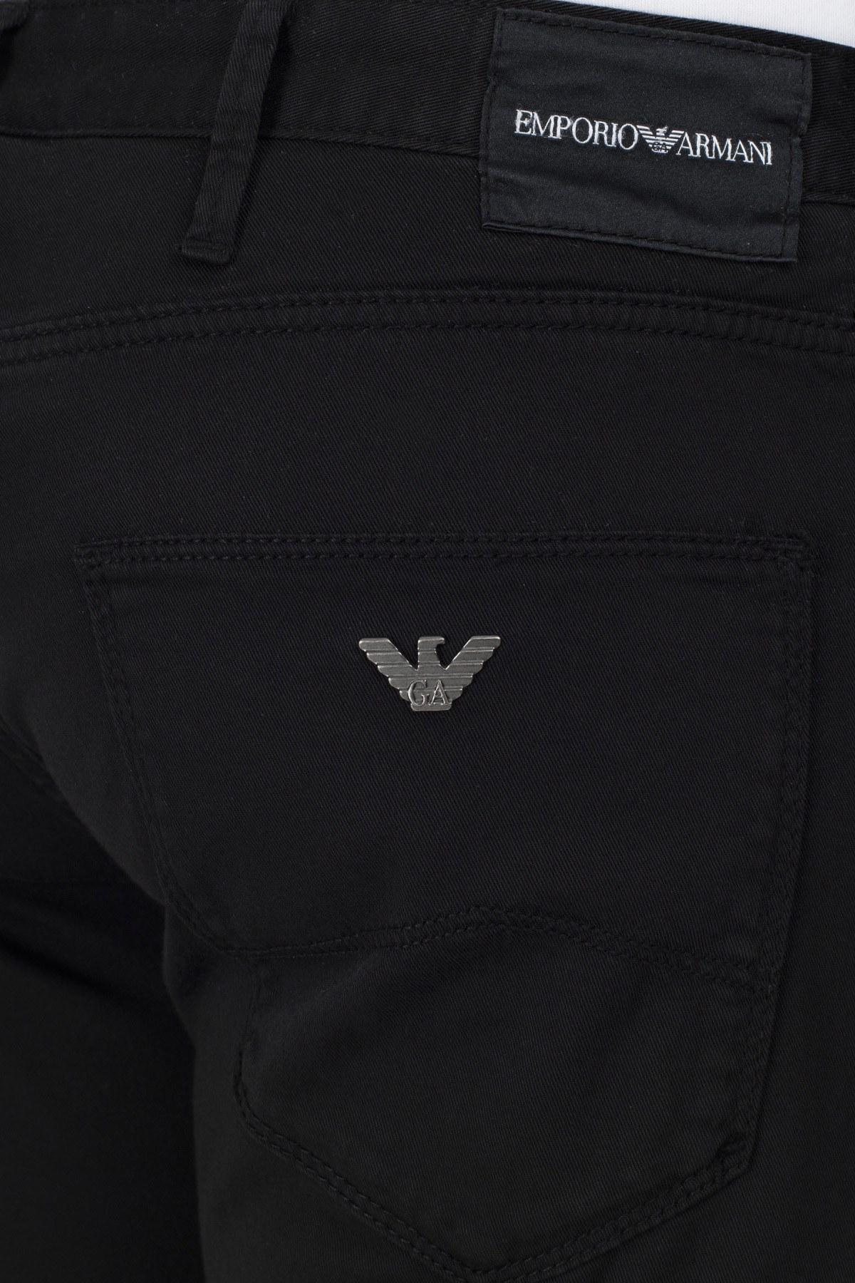 Emporio Armani J06 Jeans Erkek Pamuklu Pantolon S 6G1J06 1N4ZZ 0999 SİYAH