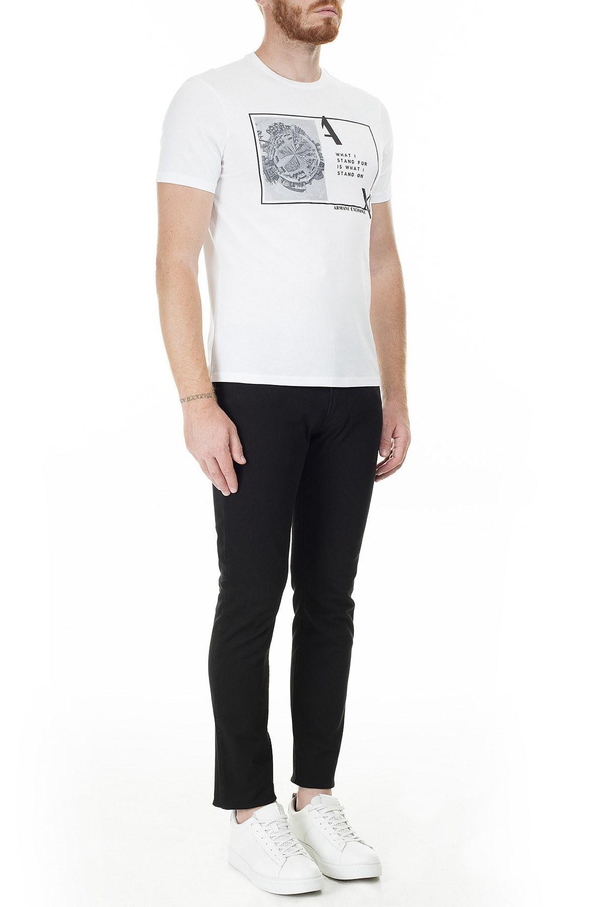 Emporio Armani J06 Jeans Slim Fit Erkek Pamuklu Pantolon 3H1J06 1N8XZ 0999 SİYAH