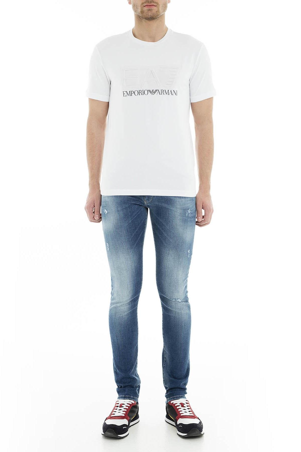 Emporio Armani J10 Jeans Erkek Kot Pantolon 3G1J10 1D5MZ 0941 MAVİ