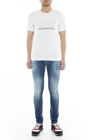 Emporio Armani - Emporio Armani J10 Jeans Erkek Kot Pantolon 3G1J10 1D5MZ 0941 MAVİ
