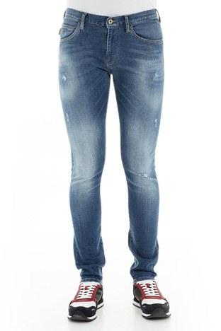 Emporio Armani - Emporio Armani J10 Jeans Erkek Kot Pantolon 3G1J10 1D5MZ 0941 MAVİ (1)