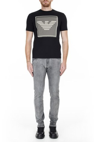 Emporio Armani - Emporio Armani J10 Jeans Erkek Kot Pantolon 6G1J10 1D6MZ 0644 GRİ