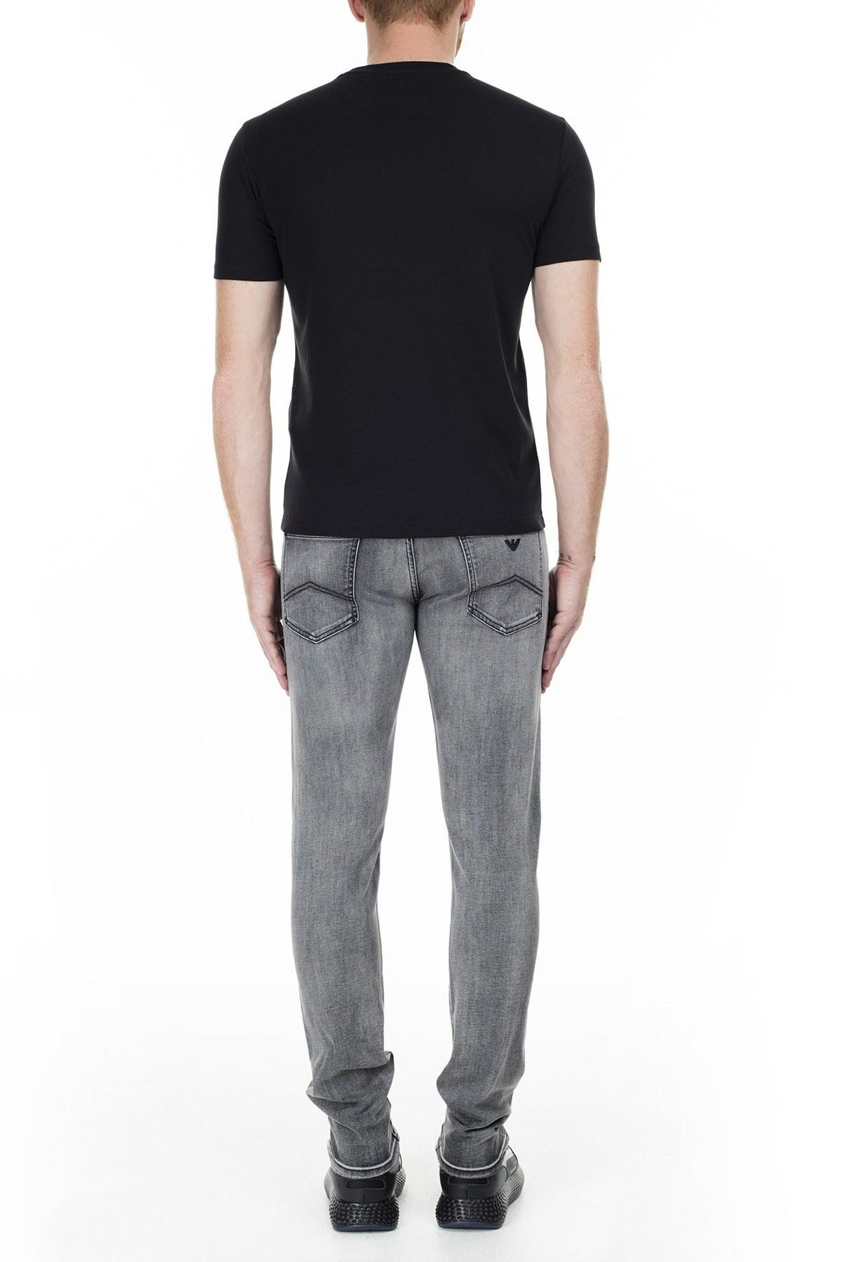 Emporio Armani J10 Jeans Erkek Kot Pantolon 6G1J10 1D6MZ 0644 GRİ