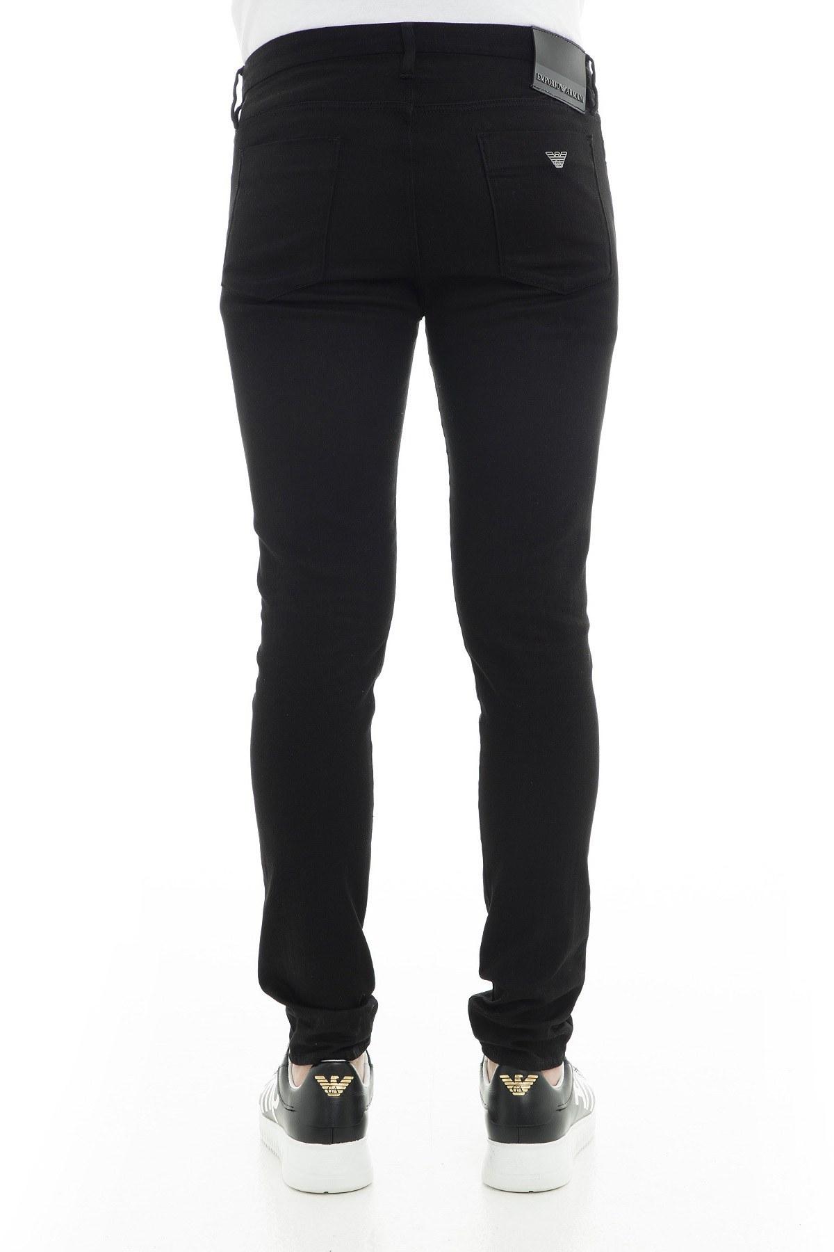 Emporio Armani J11 Jeans Erkek Kot Pantolon 3G1J11 1DHDZ 0005 SİYAH