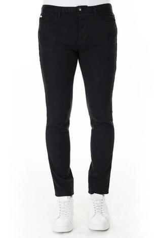 Emporio Armani - Emporio Armani J11 Jeans Slim Fit Erkek Pamuklu Pantolon 3H1J11 1N9SZ 0999 SİYAH (1)