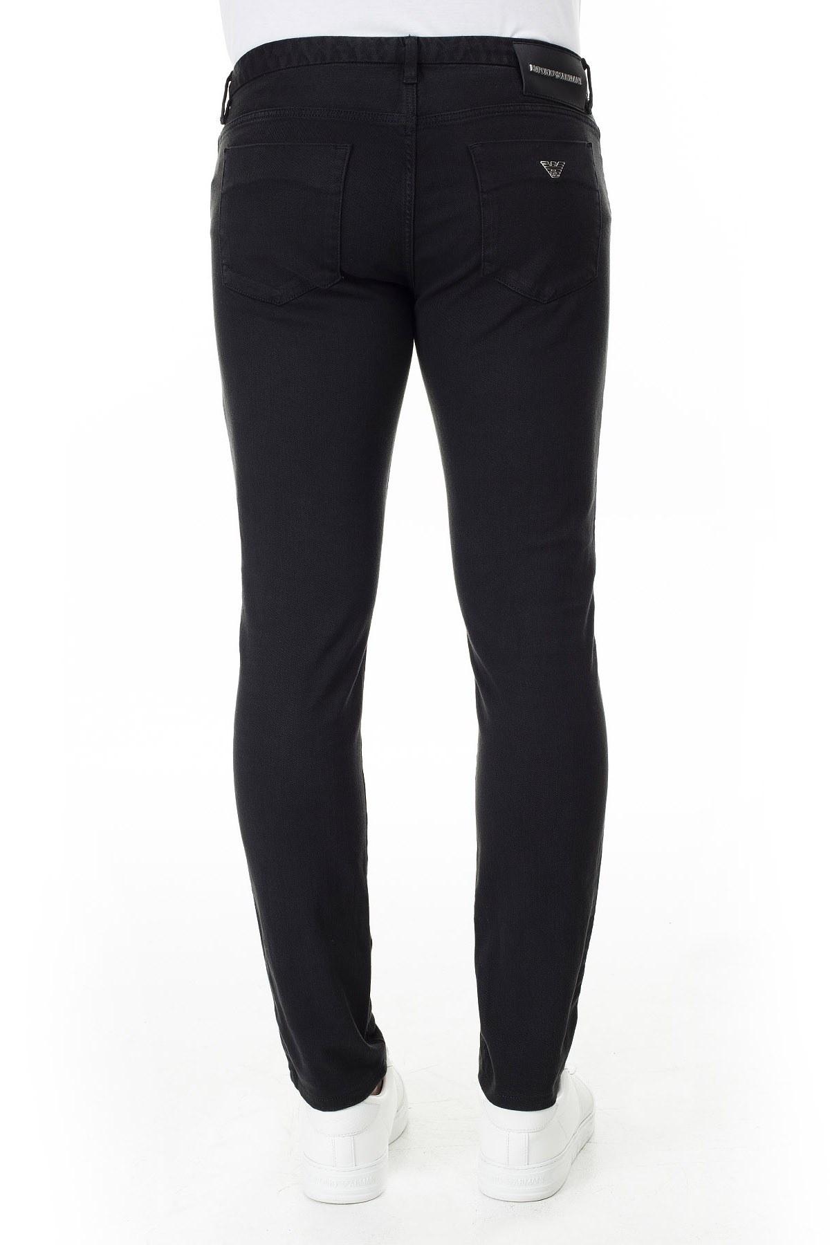 Emporio Armani J11 Jeans Slim Fit Erkek Pamuklu Pantolon 3H1J11 1N9SZ 0999 SİYAH