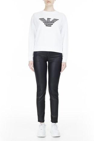Emporio Armani - Emporio Armani J23 Jeans Bayan Pamuklu Pantolon S 6G2J23 2NSWZ 0999 SİYAH
