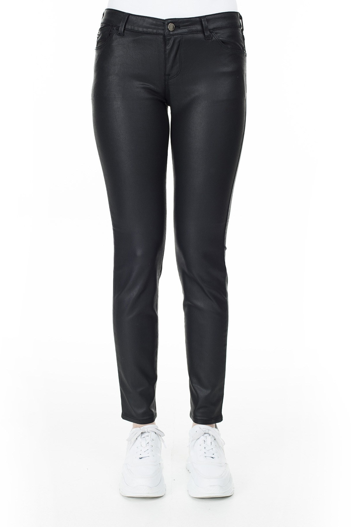 Emporio Armani J23 Jeans Bayan Pamuklu Pantolon S 6G2J23 2NSWZ 0999 SİYAH