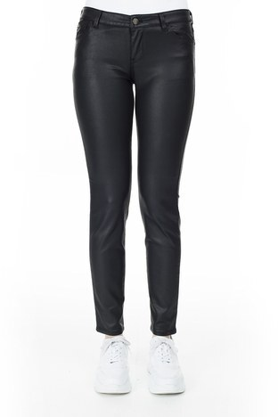 Emporio Armani - Emporio Armani J23 Jeans Bayan Pamuklu Pantolon S 6G2J23 2NSWZ 0999 SİYAH (1)