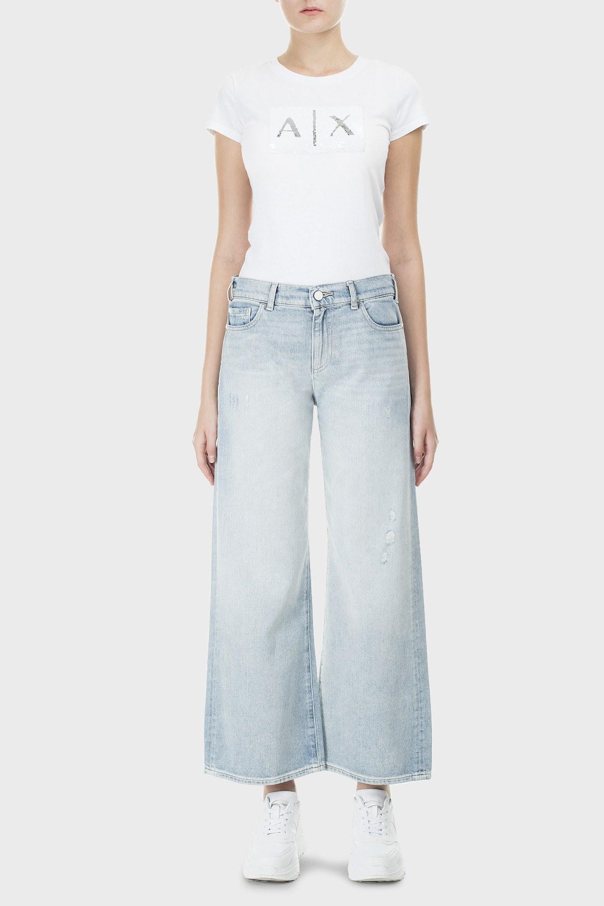 Emporio Armani J33 Jeans Bayan Kot Pantolon 3H2J33 2D8KZ 0941 LACİVERT