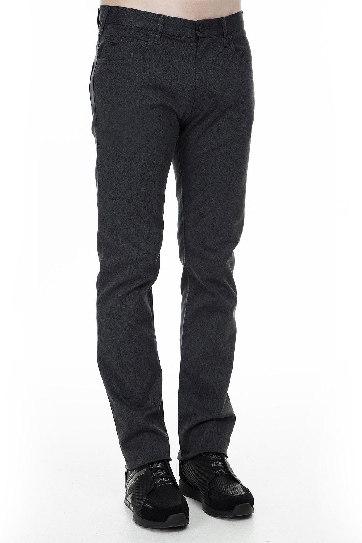 Emporio Armani J45 Jeans Erkek Pamuklu Pantolon 6G1J45 1N50Z 0644 GRİ