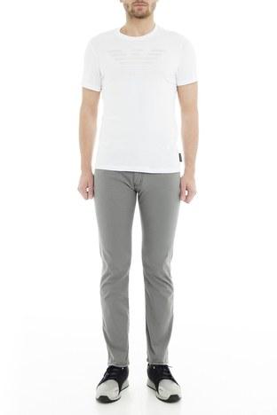 Emporio Armani - Emporio Armani J45 Jeans Erkek Pamuklu Pantolon 8N1J45 1N0LZ 0644 GRİ