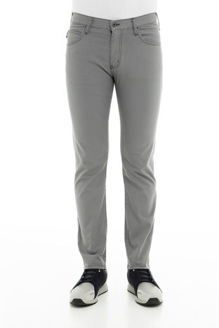 Emporio Armani - Emporio Armani J45 Jeans Erkek Pamuklu Pantolon 8N1J45 1N0LZ 0644 GRİ (1)