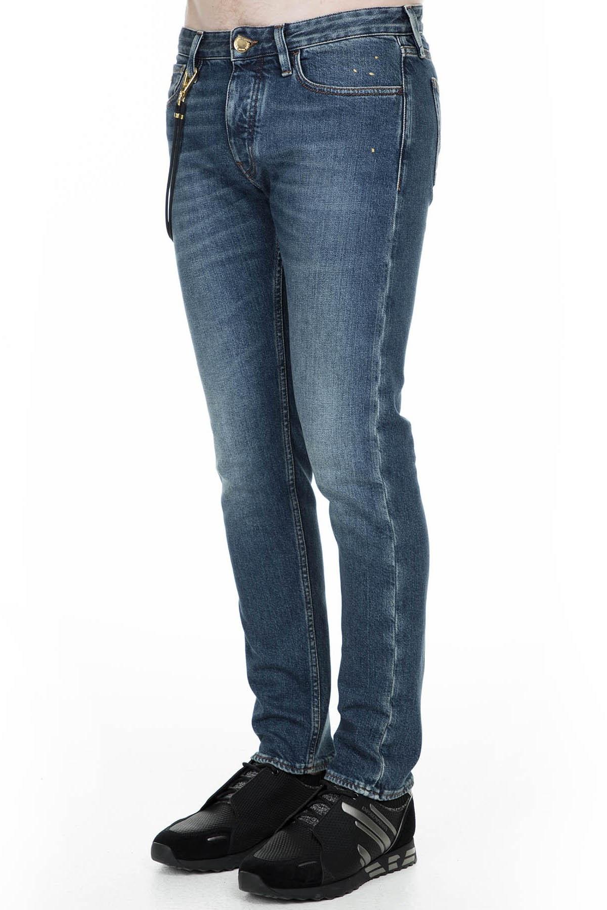Emporio Armani J75 Jeans Erkek Kot Pantolon 6G1J75 1D8GZ 0942 MAVİ