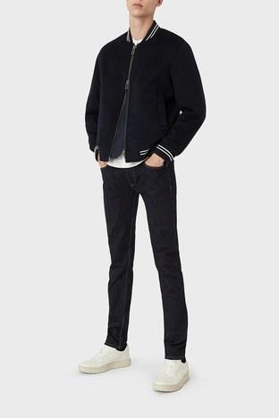 Emporio Armani - Emporio Armani J75 Jeans Erkek Kot Pantolon 6K1J75 1DI5Z 0941 LACİVERT