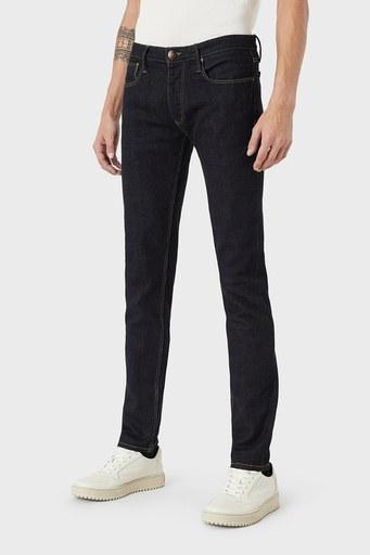Emporio Armani J75 Jeans Erkek Kot Pantolon 6K1J75 1DI5Z 0941 LACİVERT