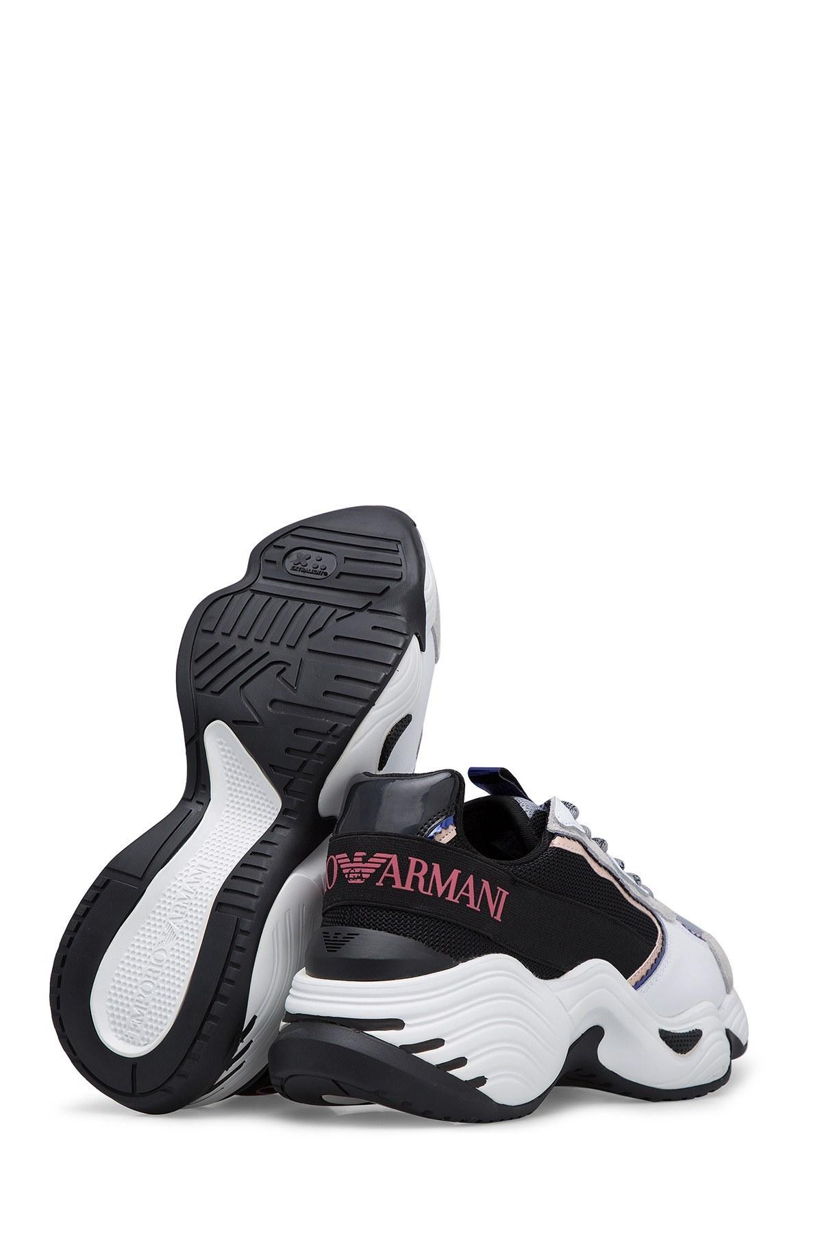 Emporio Armani Kadın Ayakkabı S X3X088 XM059 R539 BEYAZ