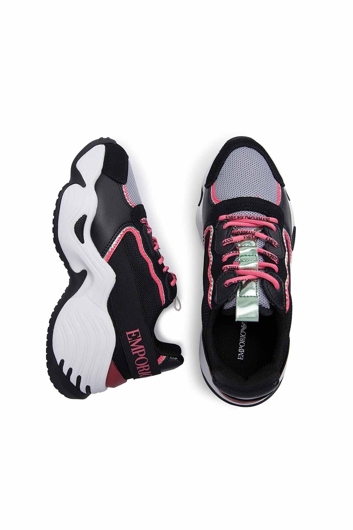 Emporio Armani Bayan Ayakkabı S X3X088 XM059 R541 SİYAH