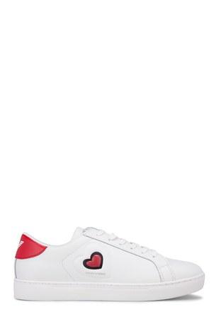 Emporio Armani Kadın Ayakkabı X3X042 XL858 A041 BEYAZ