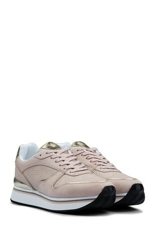 Emporio Armani Kadın Ayakkabı X3X046 XL860 N887 PUDRA