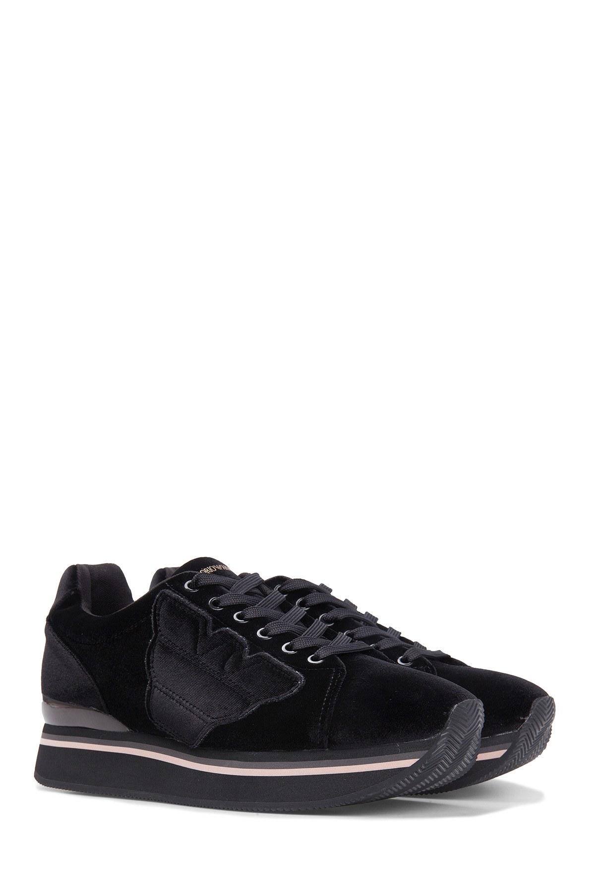 Emporio Armani Kadın Ayakkabı X3X057 XD163 00002 SİYAH