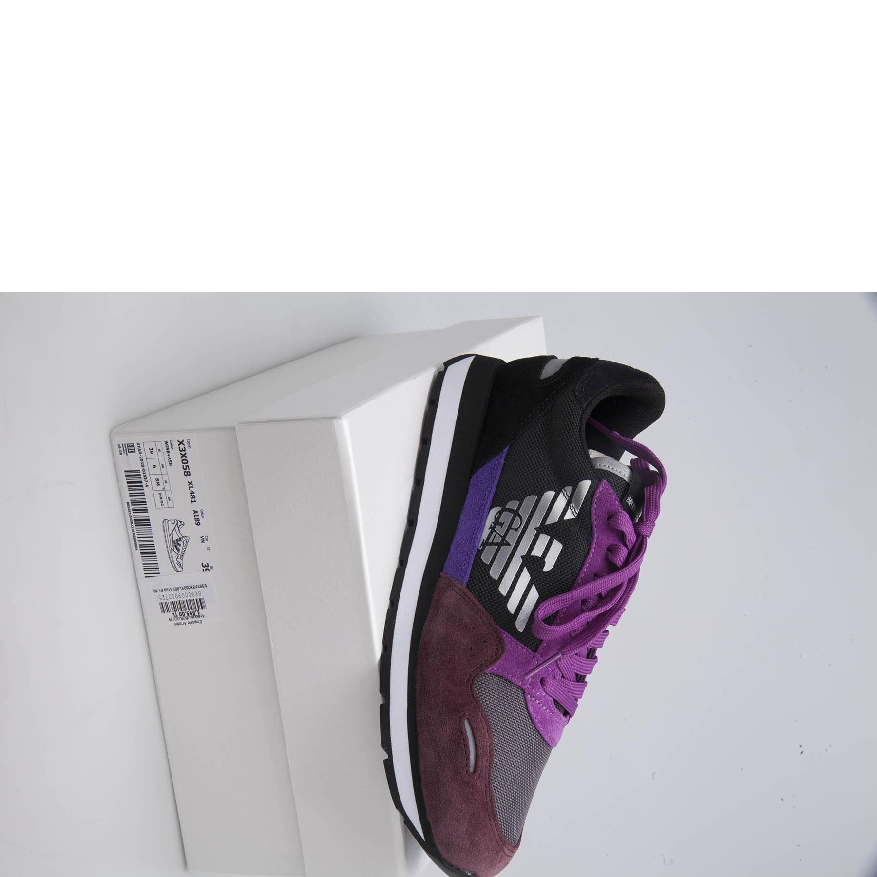 Emporio Armani Kadın Ayakkabı X3X058 XL481 A189 BORDO