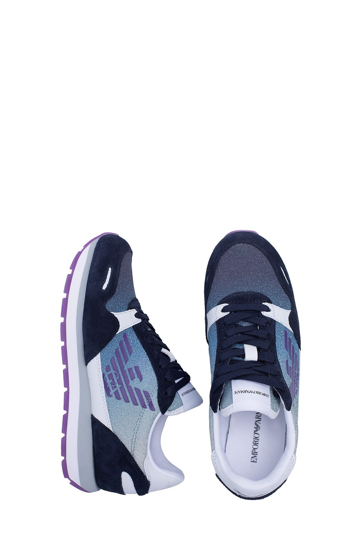 Emporio Armani Kadın Ayakkabı X3X058 XM262 R724 LACİVERT