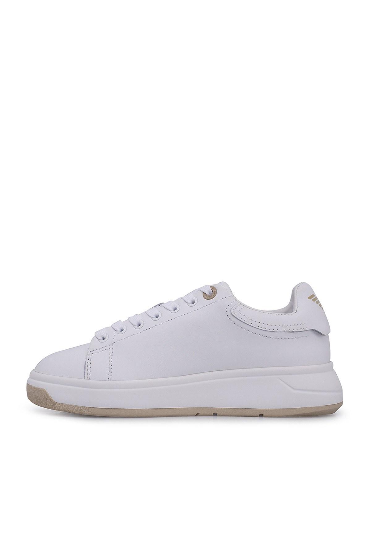 Emporio Armani Bayan Ayakkabı X3X070 XM255 R704 BEYAZ