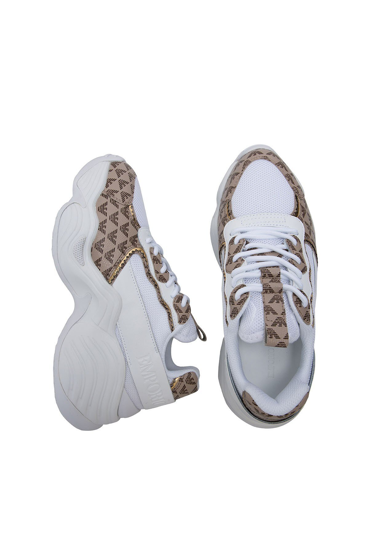 Emporio Armani Bayan Ayakkabı X3X088 XM328 R780 BEYAZ