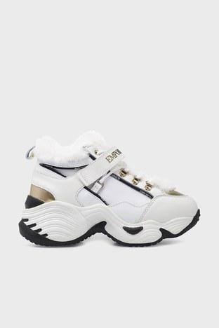Emporio Armani - Emporio Armani Bayan Ayakkabı X3X122 XM538 N186 BEYAZ