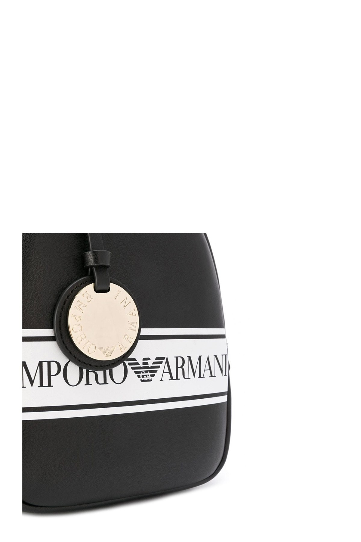 Emporio Armani Kadın Çanta S Y3L036 YFG7A 88007 SİYAH-BEJ