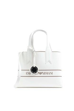 Emporio Armani - Emporio Armani Kadın Çanta Y3D153 YFO4E 84319 BEYAZ