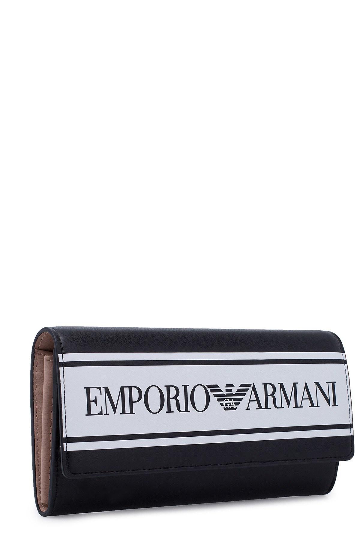Emporio Armani Kadın Cüzdan S Y3H170 YFG7A 88007 SİYAH