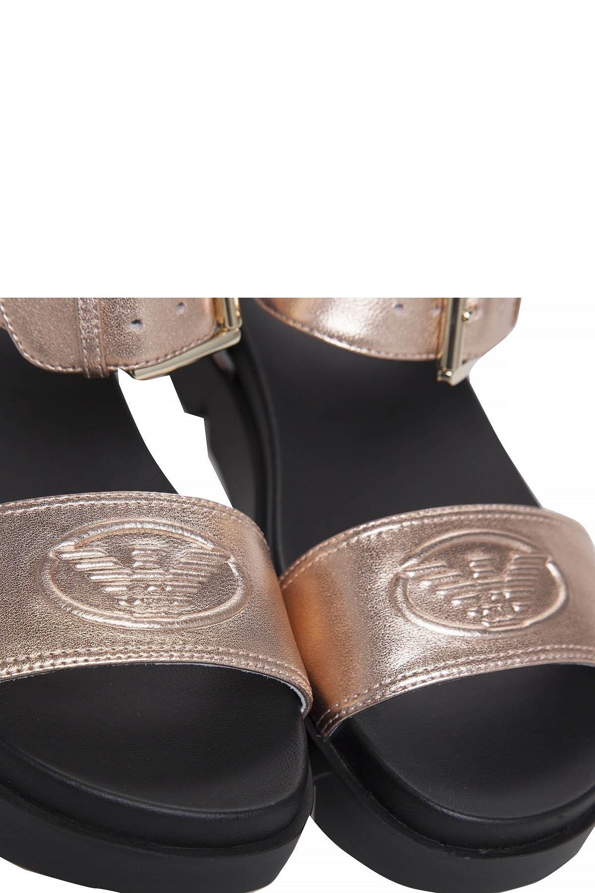 EMPORIO ARMANI Kadın Sandalet X3U064 XF194 00075 ROSE