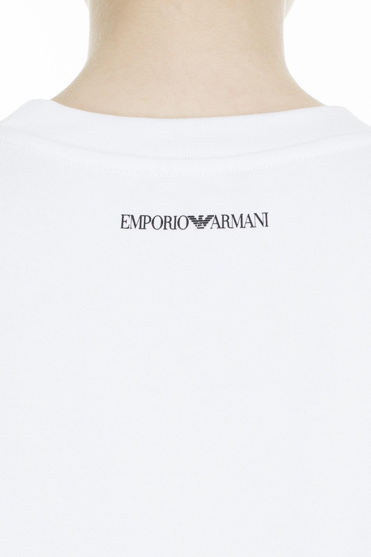 Emporio Armani Kadın Sweat S 6G2M7P 2J49Z 0100 BEYAZ