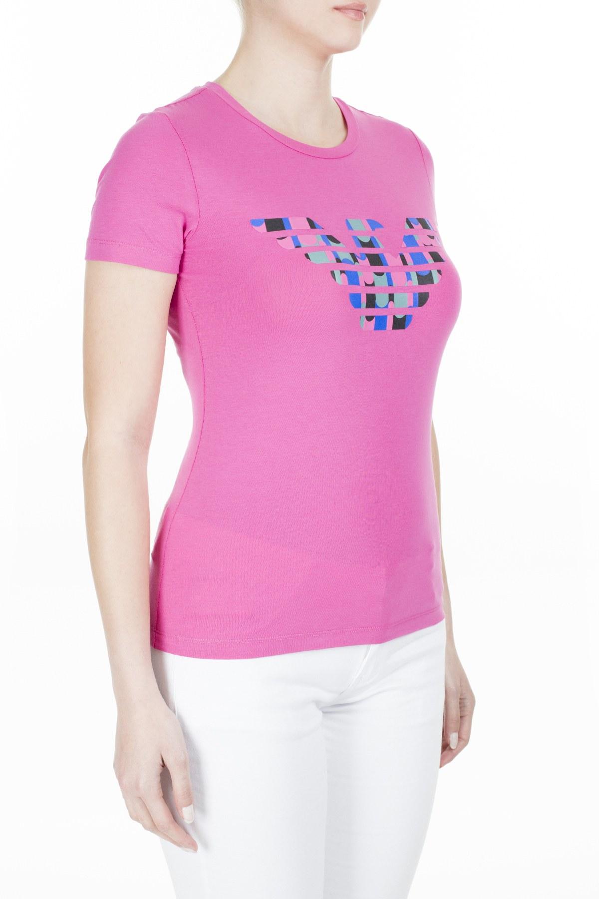 Emporio Armani Bayan T Shirt 3H2T8A 2J07Z 0309 FUŞYA