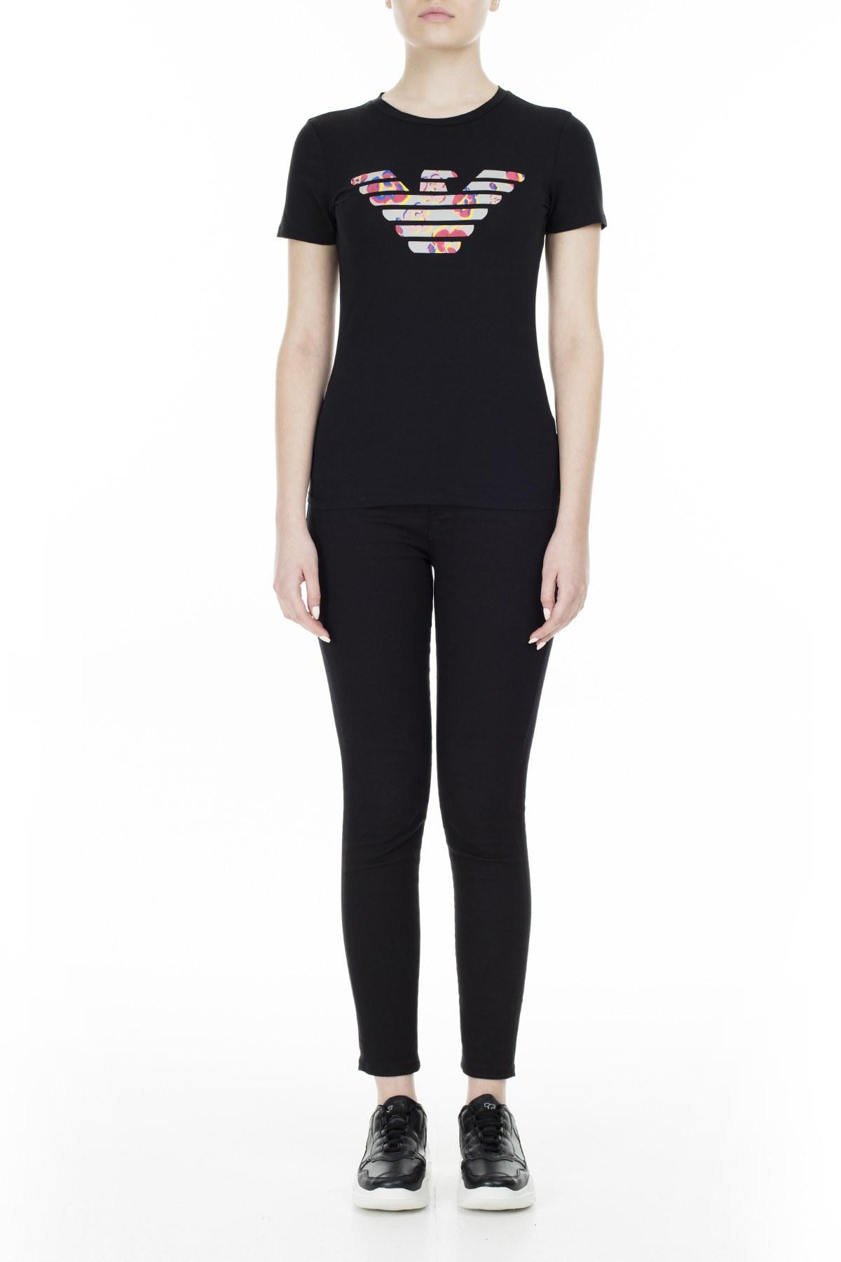 Emporio Armani Kadın T Shirt S 6G2T7N 2J07Z 0999 SİYAH