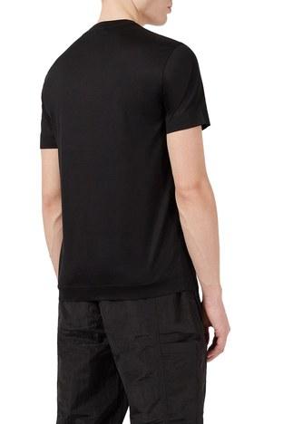 Emporio Armani - Emporio Armani Erkek T Shirt 3K1TAG 1JUVZ 0034 SİYAH (1)