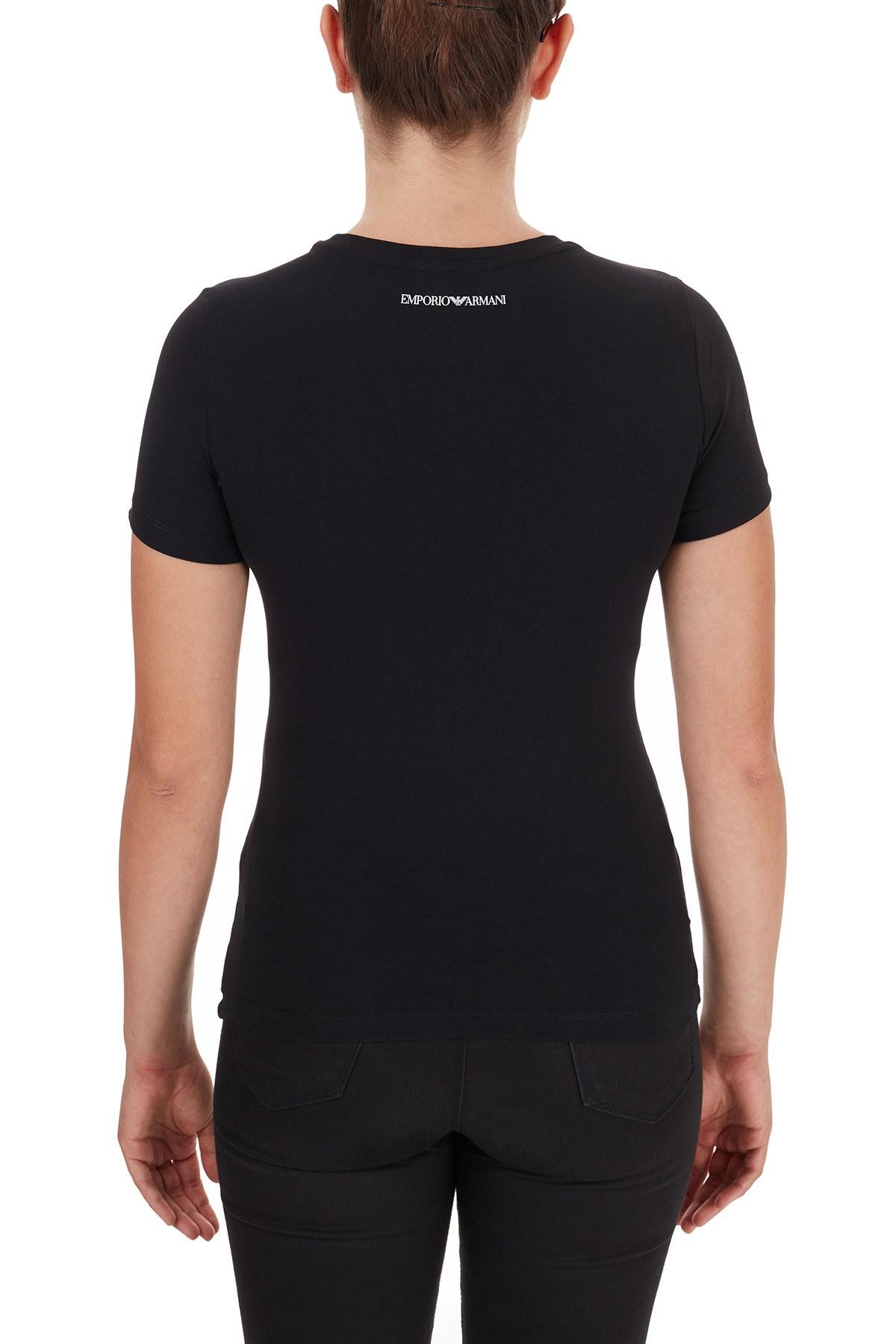Emporio Armani Bayan T Shirt 6H2T7N 2J07Z 0999 SİYAH