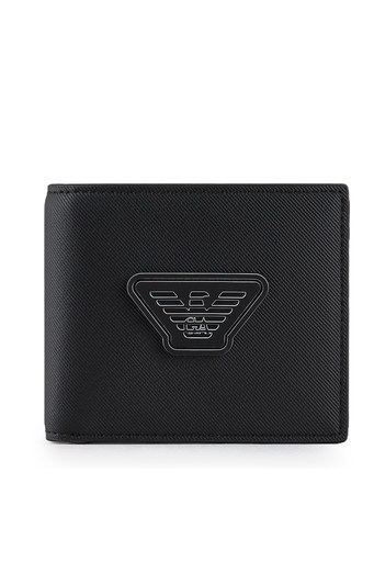 Emporio Armani Logo Baskılı Erkek Cüzdan Y4R168 Y019V 81072 SİYAH