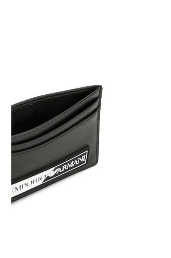 Emporio Armani Logo Baskılı Erkek Kartlık Y4R125 YTA2J 81072 SİYAH