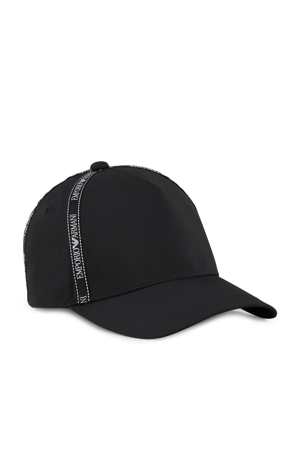 Emporio Armani Logo Baskılı Erkek Şapka 627503 0A522 00020 SİYAH