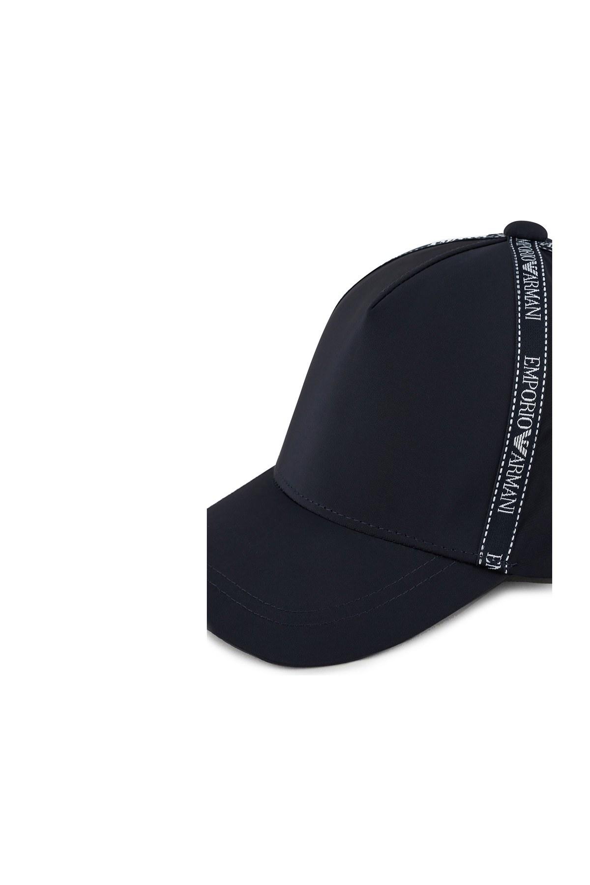 Emporio Armani Logo Baskılı Erkek Şapka 627503 0A522 00035 LACİVERT