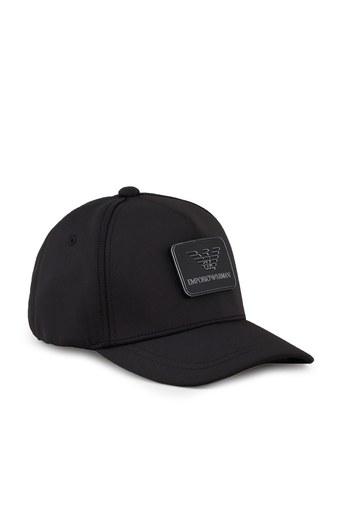Emporio Armani Logo Baskılı Erkek Şapka 627561 1P551 00020 SİYAH