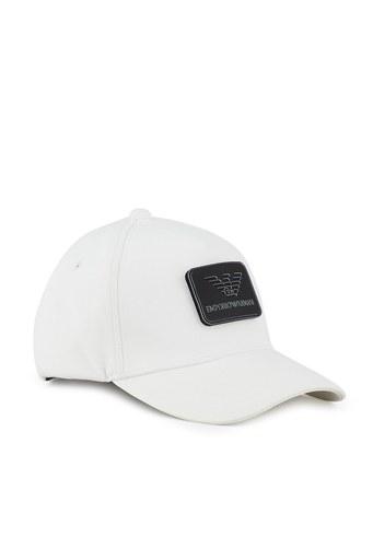 Emporio Armani Logo Baskılı Erkek Şapka 627561 1P551 41510 EKRU