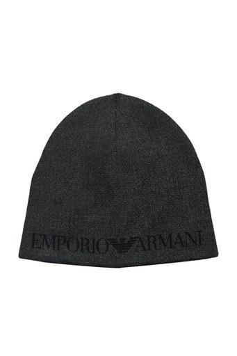 Emporio Armani Logo Baskılı Yünlü Erkek Bere 627013 0A513 00044 ANTRASİT